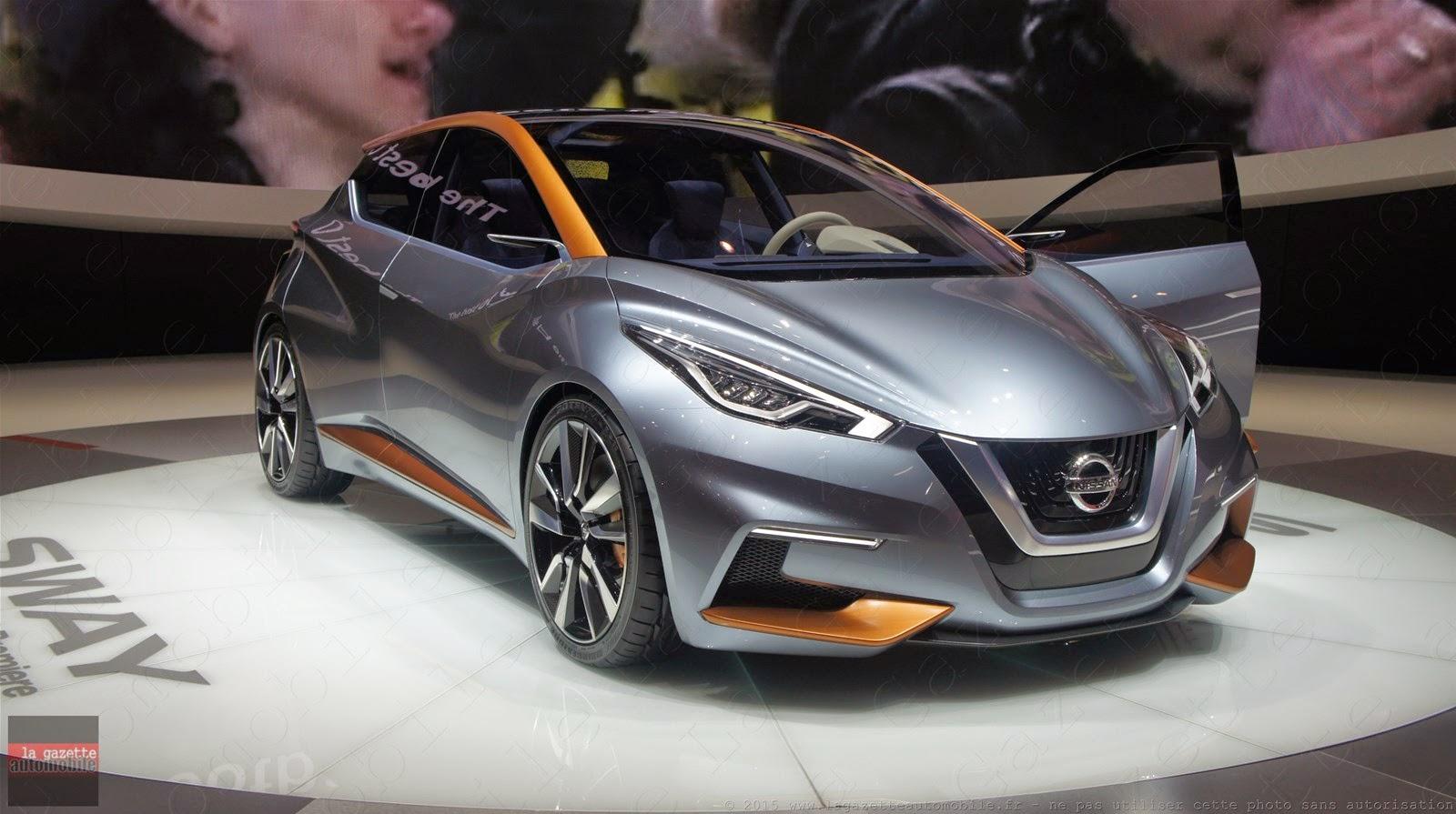 Genève 2015 Nissan Sway Concept