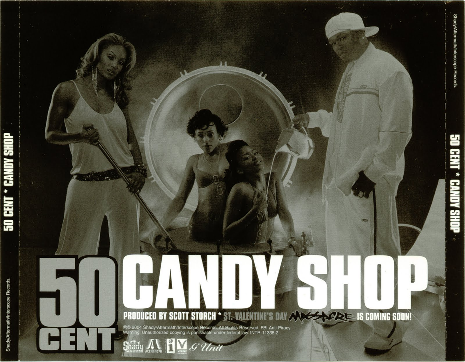 Promo, Import, Retail CD Singles & Albums: 50 Cent - Candy ...