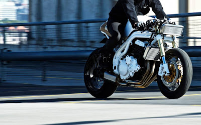 "Triump Speed Triple ""New Cafe"""