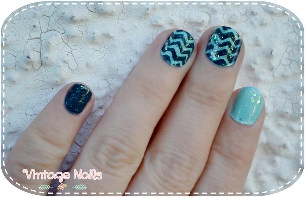 nail art, manicura, manicure, chevron, chevron nail art, OPI, Astor, Deborah Milano