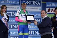 Damiano Cunego fue el más fuerte en la montaña