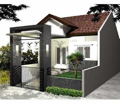 Desain Pagar Rumah Minimalis Type 36