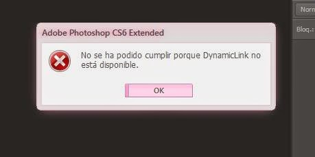 photoshop portable dynamic link not available