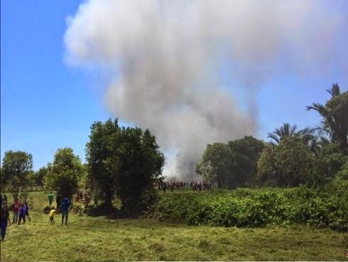 Dua pesawat Lima 15 dari Indonesia terhempas di Langkawi