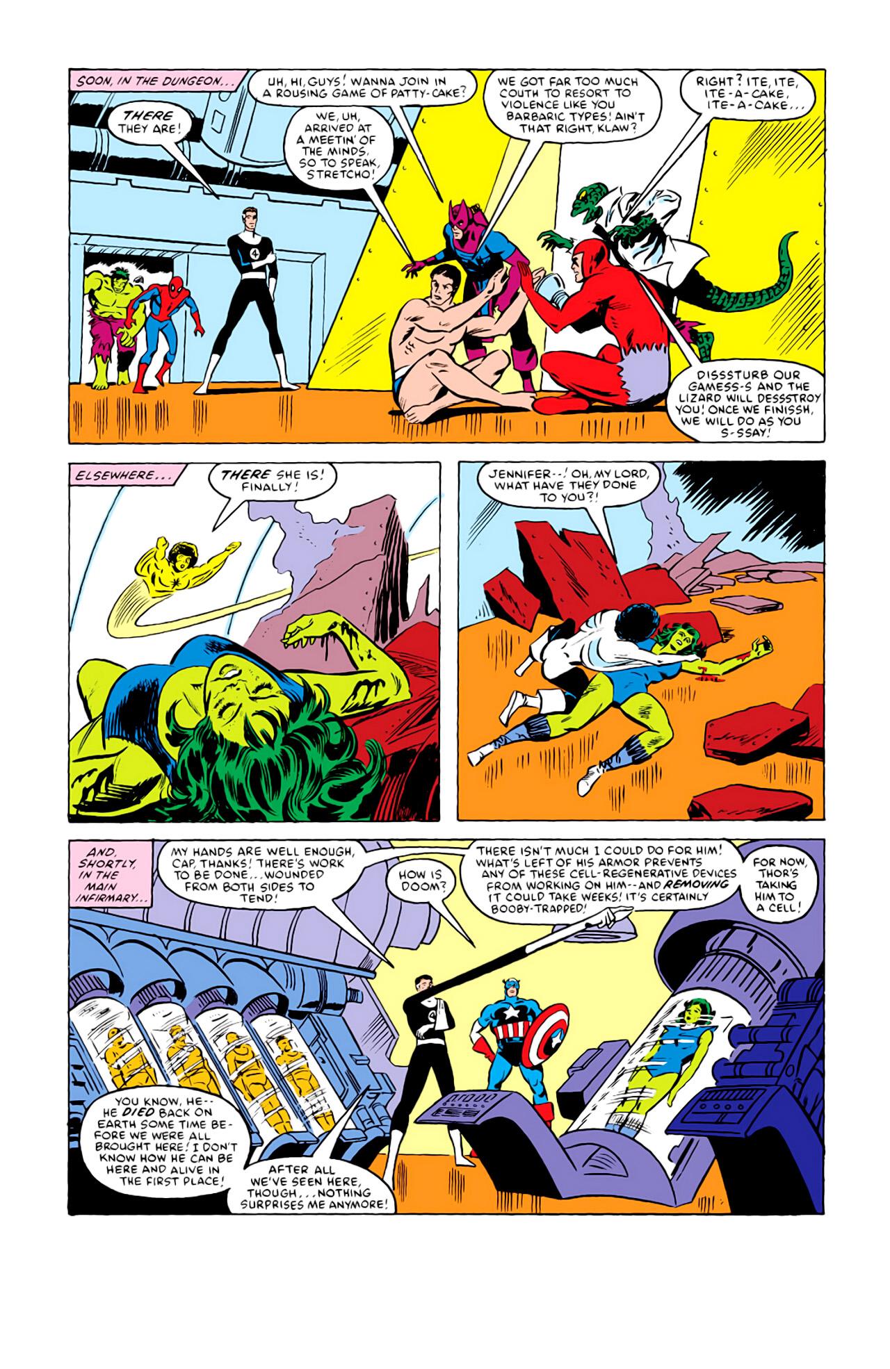 Captain America (1968) Issue #292i #216 - English 20