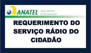 A solicitação de autorização do Serviço Rádio do Cidadão implica em despesas