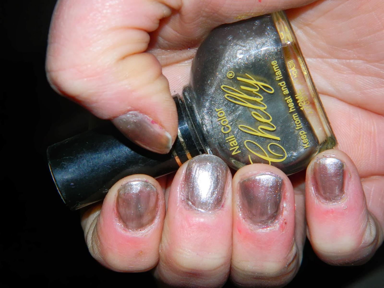 cutting edge polish : vintage nail polish from 1990s- 2002