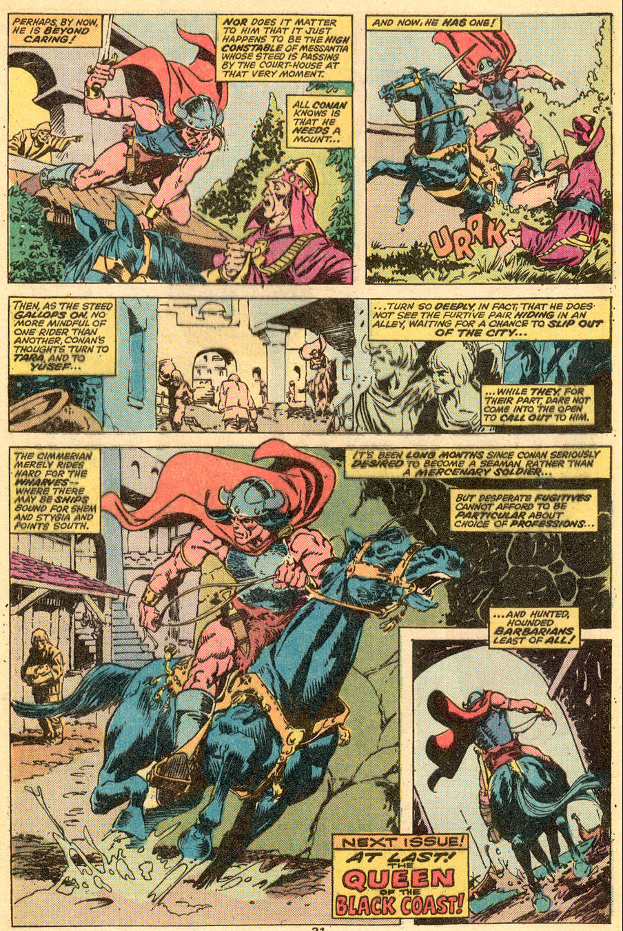Conan the Barbarian (1970) Issue #57 #69 - English 19