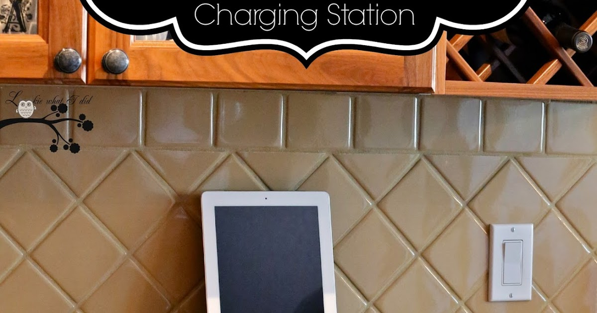 Turn a Shadowbox into a Charging Station