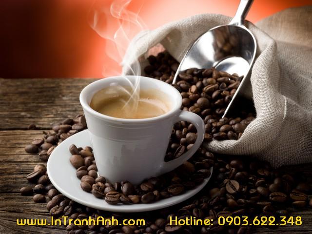 trang dán tường cafe, coffee