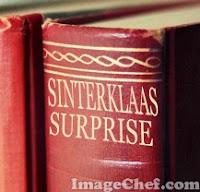 surprise maken boek van sinterklaas