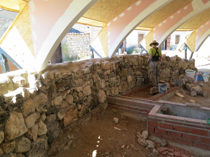 Pan y trillar cerramiento de piedra en fachada norte con - Cerramientos de piedra ...