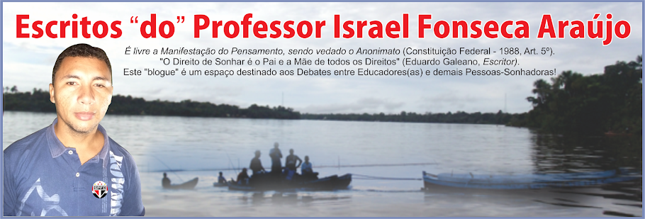 Escritos do Professor Israel Fonseca Araújo