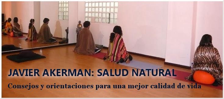 PÁGINA DE SALUD NATURAL DE JAVIER AKERMAN