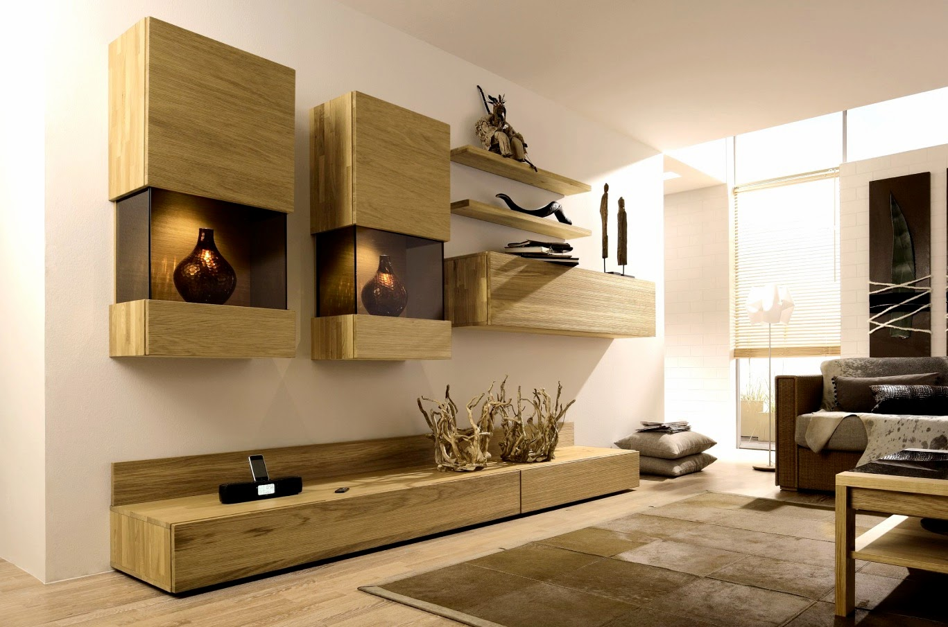 Design Wall Units For Living Room view in gallery floating wall units bring visual lightness to the small living room Modern Tv Wall Units For Living Room Tv Units Designs Ideas