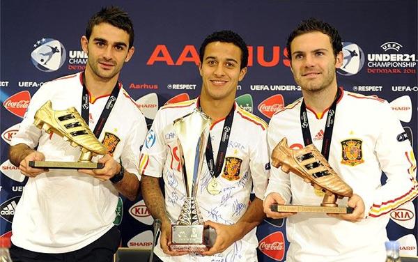 selección española de fútbol sub 21 jugadores