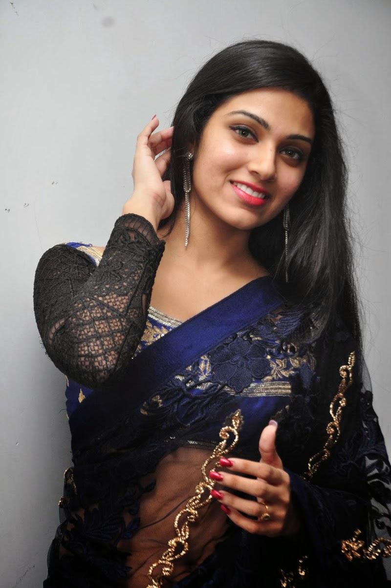 Avanthika glamorous photos in saree-HQ-Photo-11