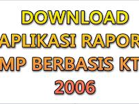 Aplikasi Raport SMP berbasis KTSP 2006