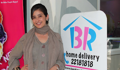 manisha koirala launches new baskin robbins store hot images