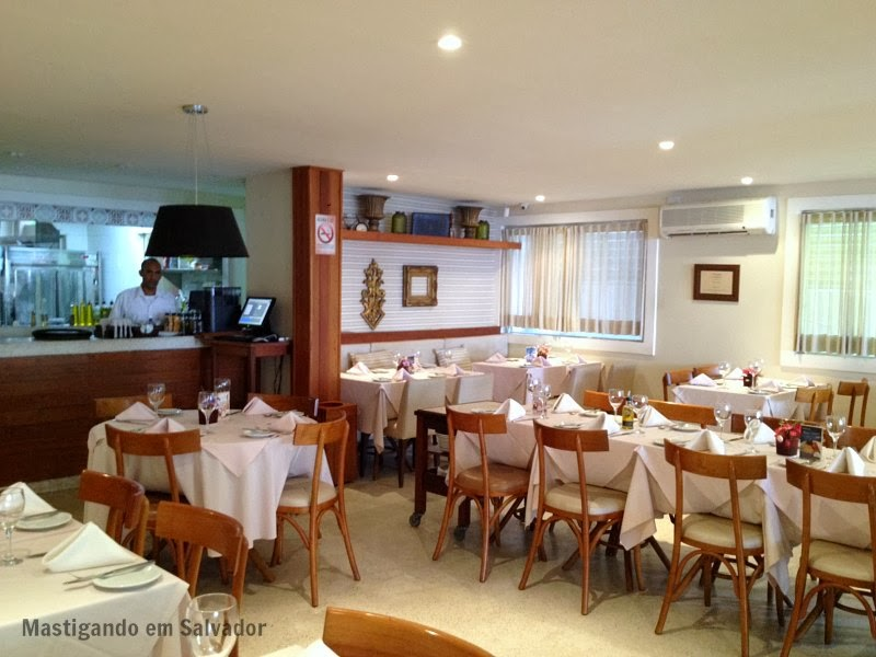 Marfino Restaurante: Ambiente interno