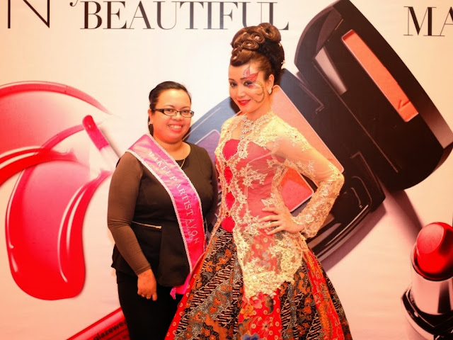 Avon makeup artist search 2013, avon, the ultimate makeup artist, pesona batik, makeup, nasha aziz, zulfazli suhadi, champion