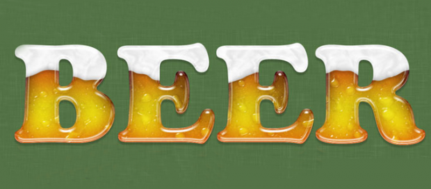 Icy Beer Text Effect in Photoshop