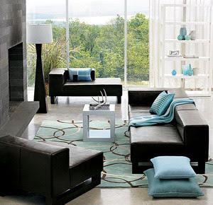desain unik ruang tamu