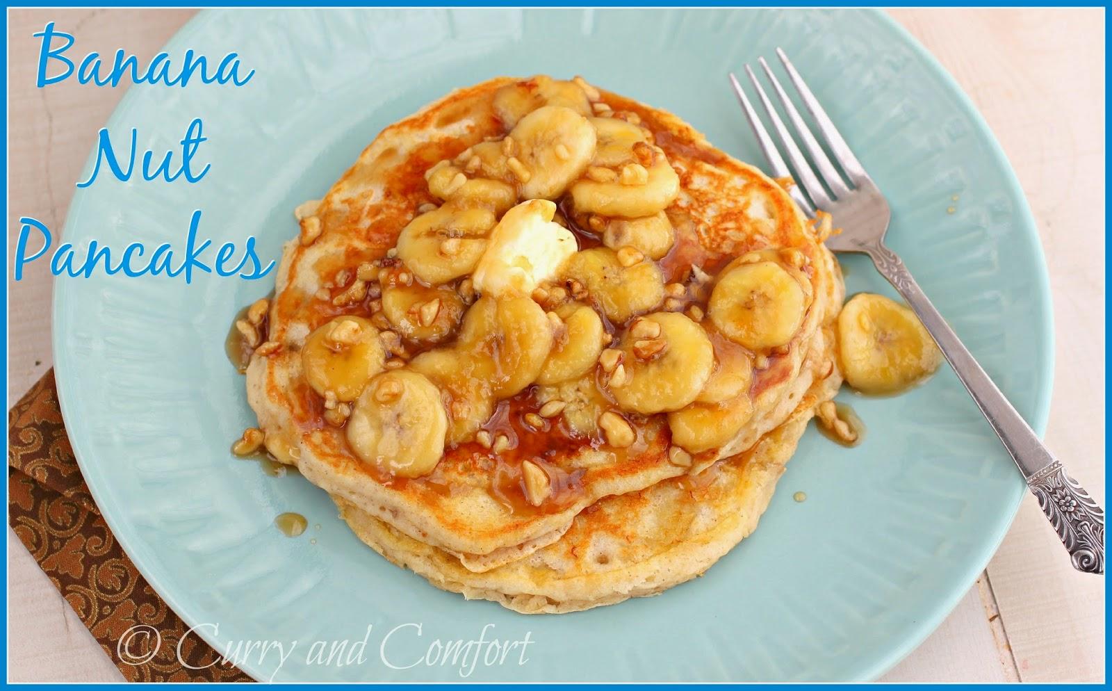 Kitchen Simmer: Banana Nut Pancakes