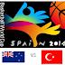 FIBA: New Zealand vs Turkey Live Stream, Replay Video