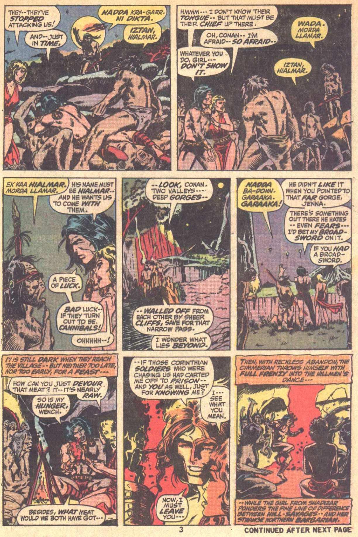 Conan the Barbarian (1970) Issue #9 #21 - English 4