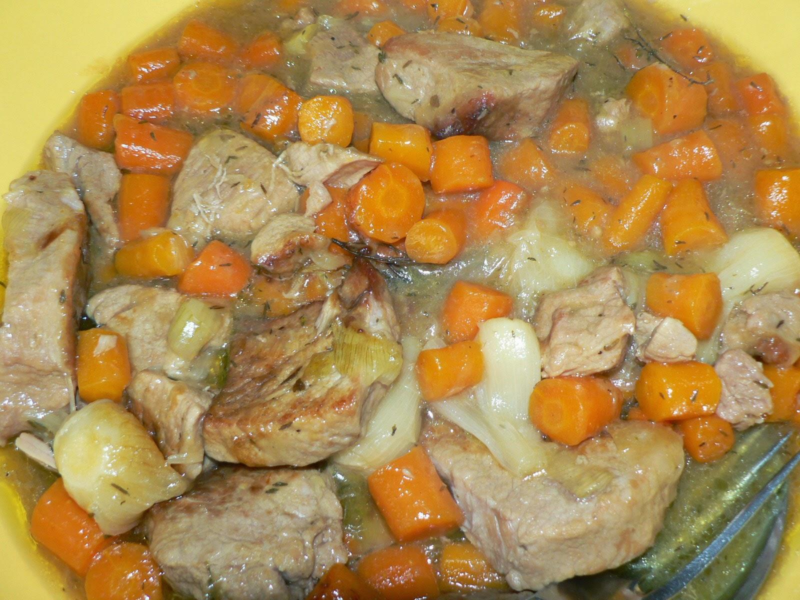 Une parisienne cuisine ma blanquette de veau - Cuisine blanquette de veau ...