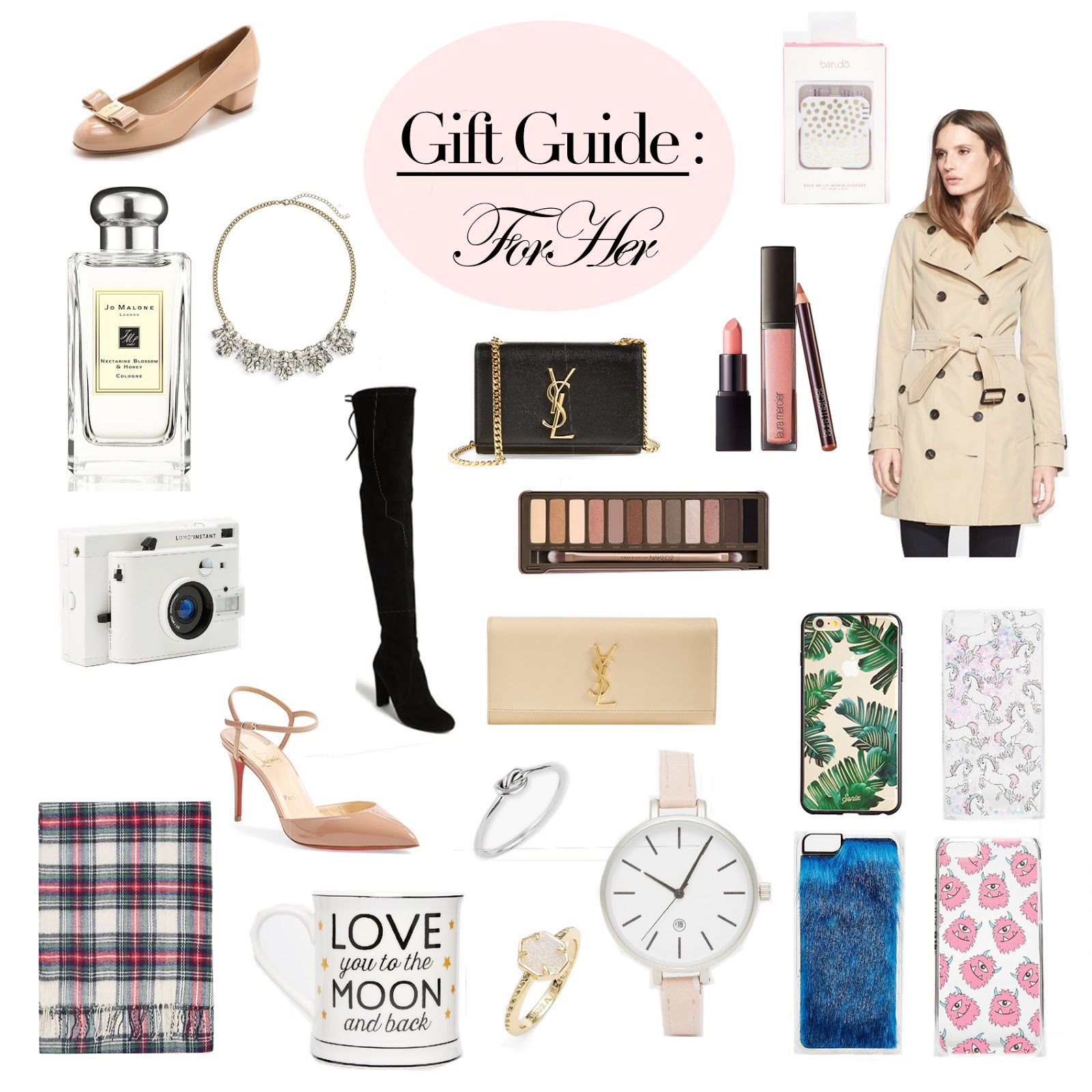 ultimate collage gift guide for women