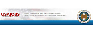 Logo for USA Jobs site.