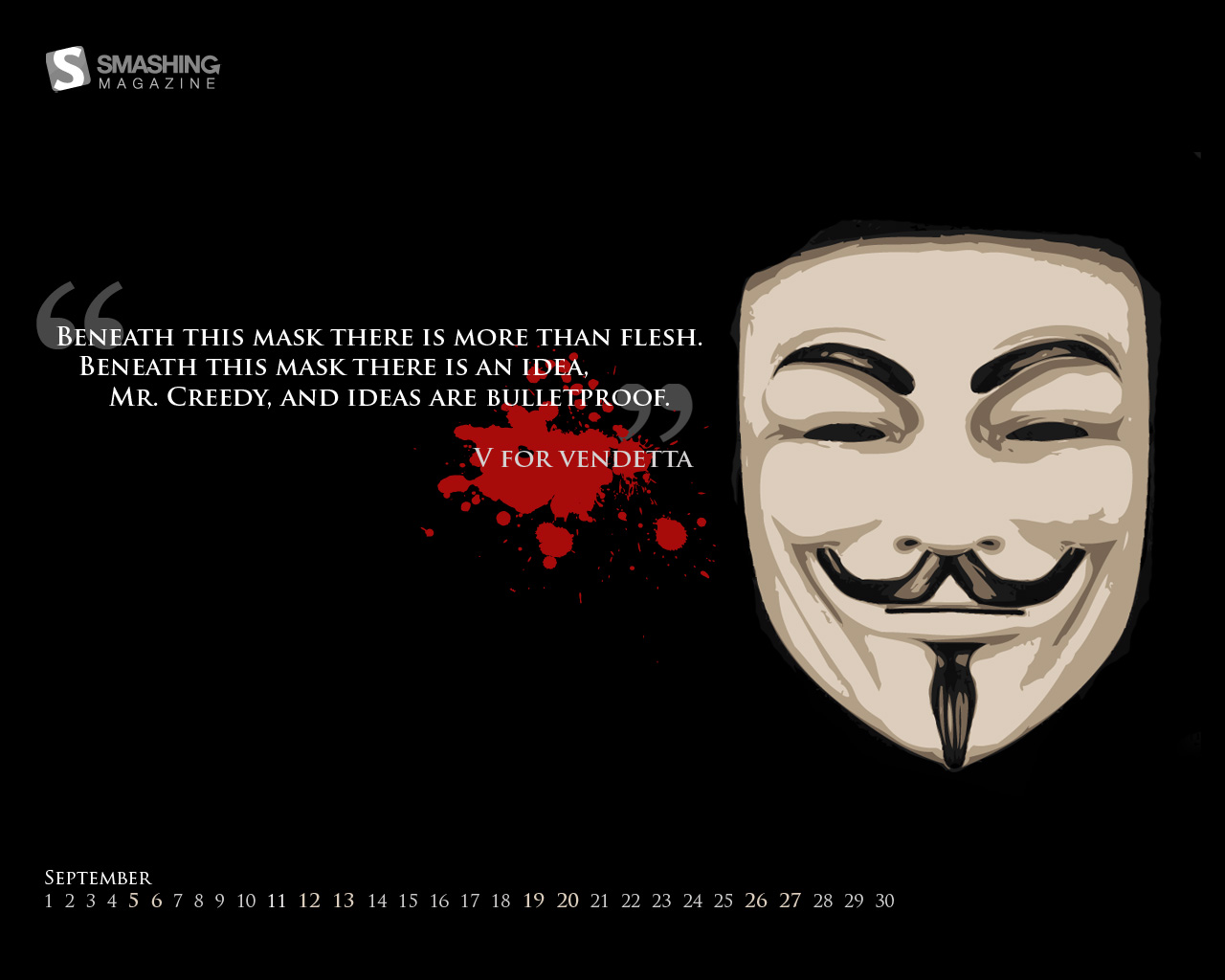 V for vendetta quotes