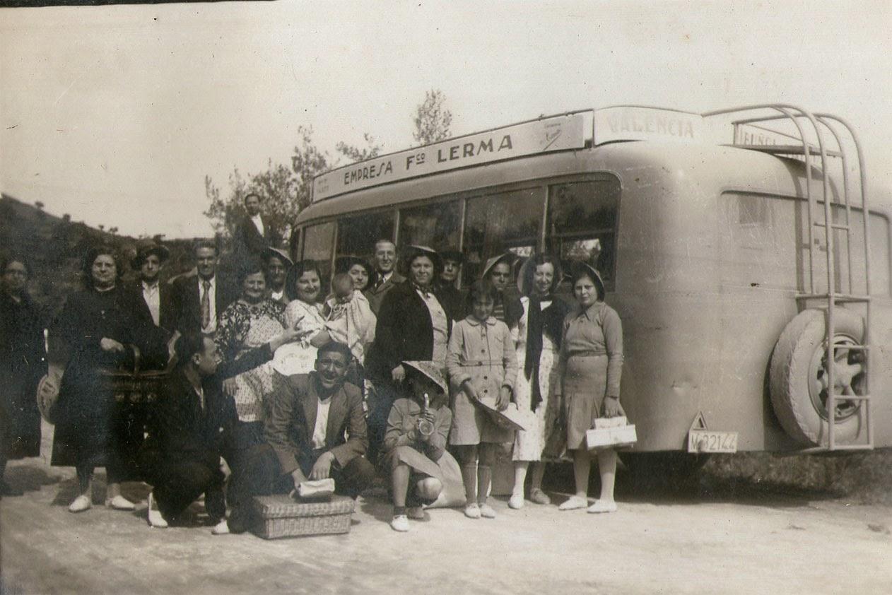 Excursión a Buñol, Valencia, 1934