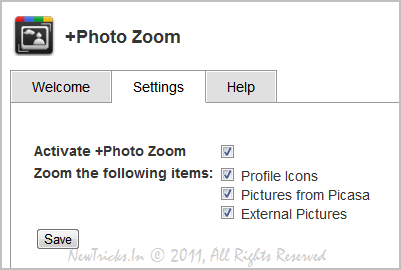 Google Plus Photo Zoom
