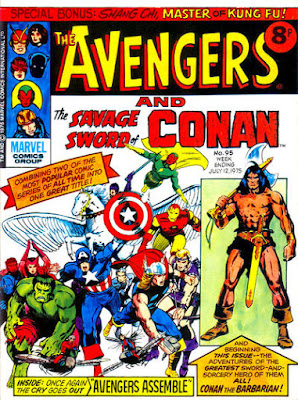 Marvel UK, The Avengers and Conan #95