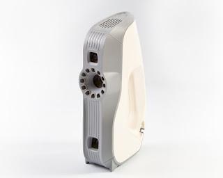 Escáner 3D EVA para digitalizar objetos de tamaño mediano