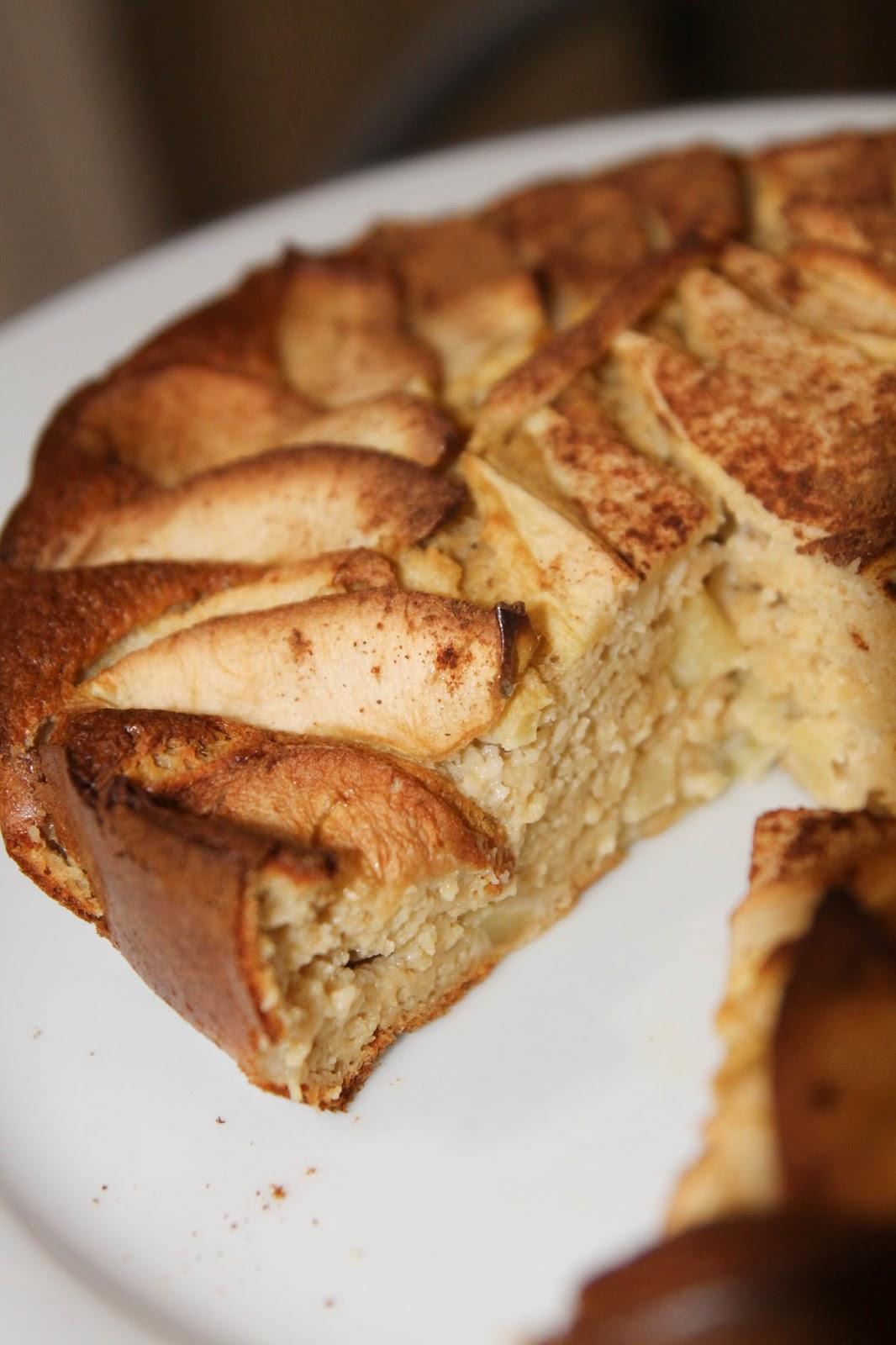 Bizcocho de manzana casero f cil y sano 1 reflejo en for Menu casero facil