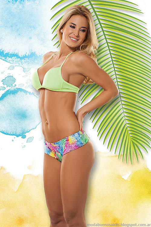 Bikinis con coulotte 2015 Cocot.