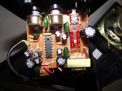 Placa do amplificador