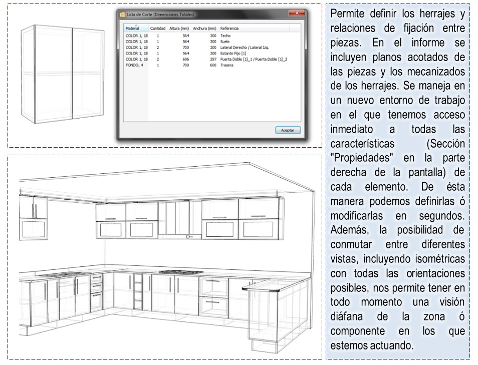 Dise os y optimisaci n de muebles en 3d programa para - Disenar muebles a medida ...
