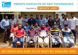 Participants - NDT Level II Held in Bengaluru India