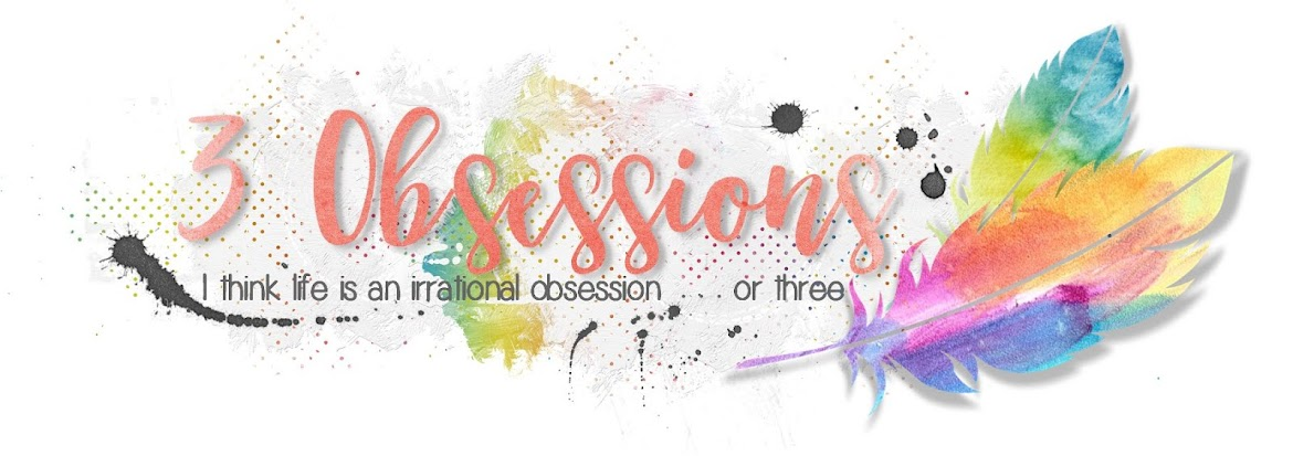 3 Obsessions  - Scrapping, Malamutes and Devons