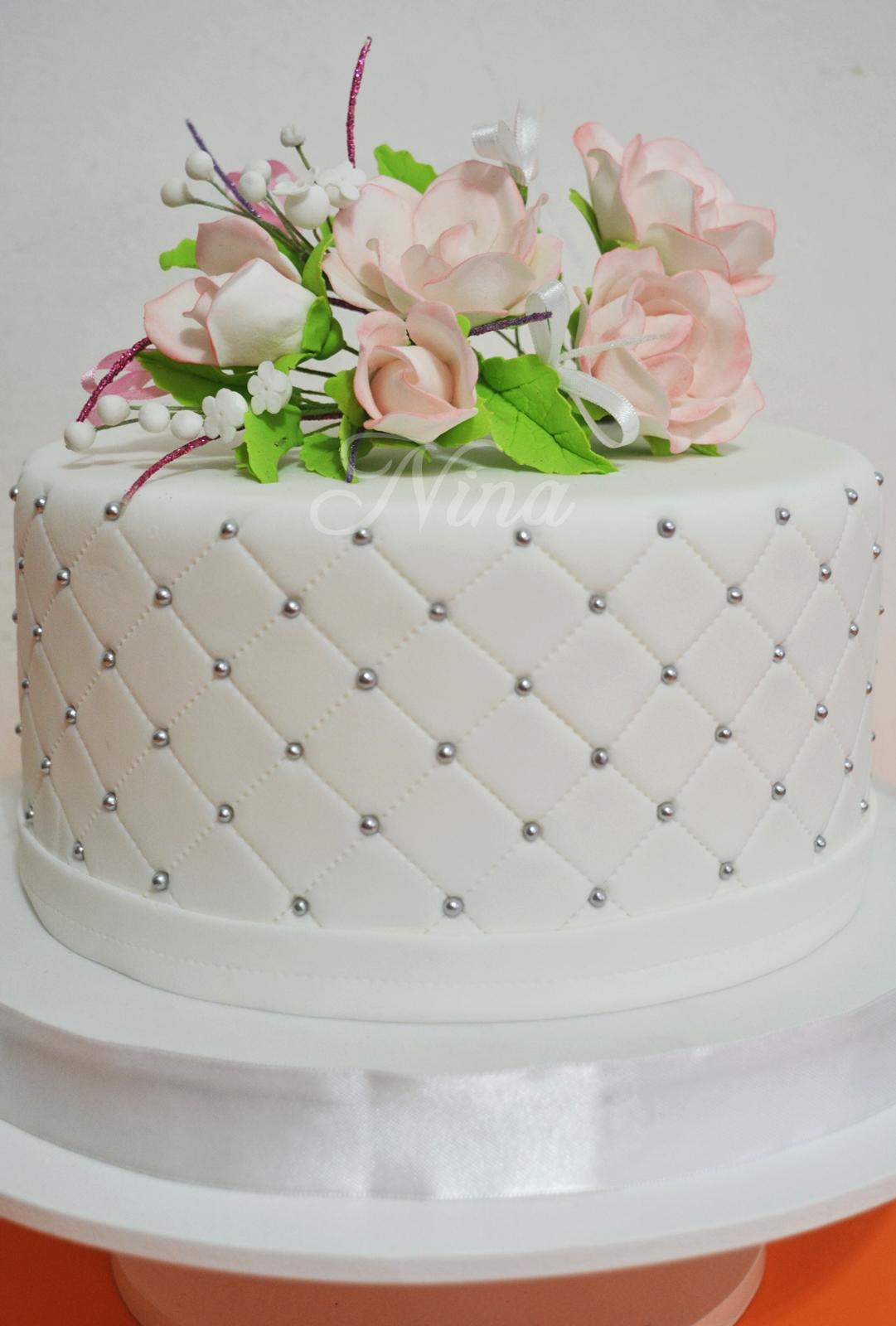 Nina dulce arte tecnica capitone decoracion de tortas for Tortas decoradas faciles