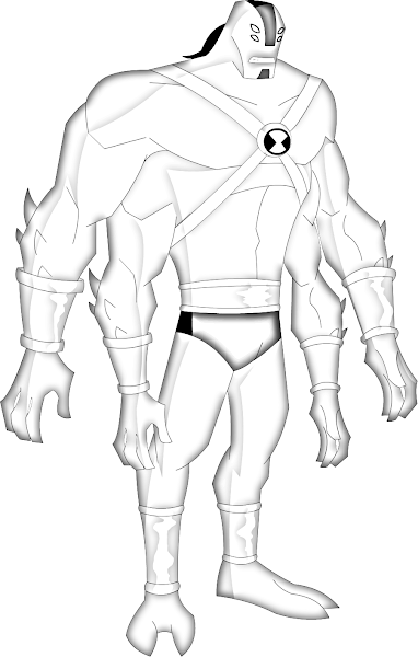 Ben 10 Omniverse Coloring Pages Albedo