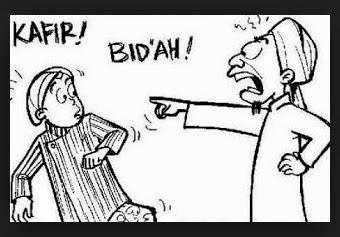 tabiat wahabi mengkafirkan muslim lainnya yang tidak sepaham