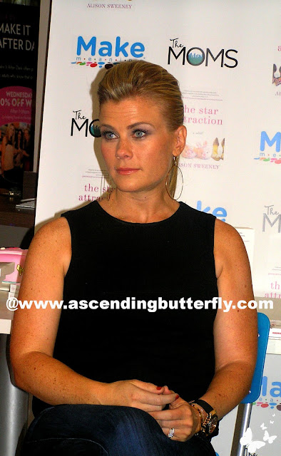 Alison Sweeney at the star attraction book signing event at Make Meaning Store in New York City #thestarattractionmamarazzi