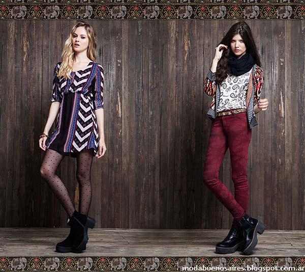 Rimmel otoño invierno 2014. Moda casual otoño invierno 2014 vestidos cortos.