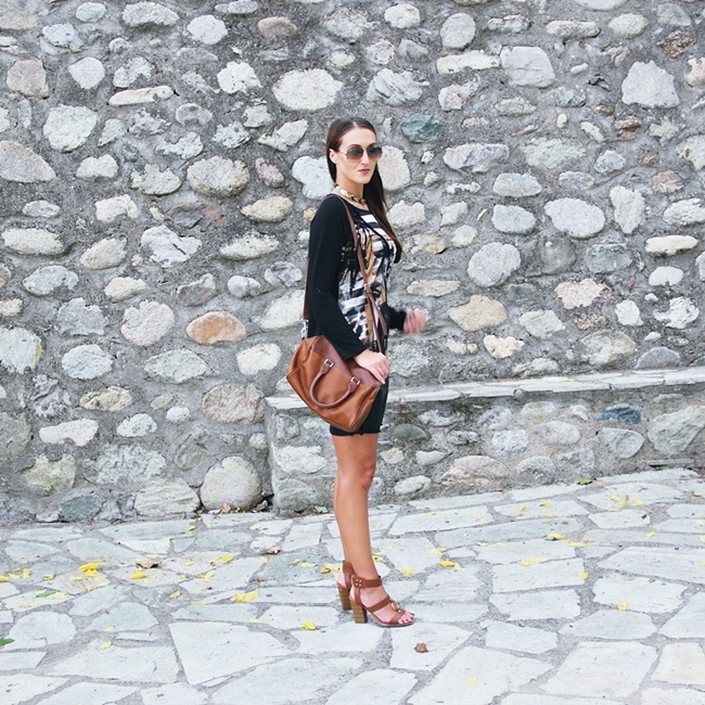 Jelena Zivanovic Instagram @lelazivanovic.Glam fab week.Outfit:Egdy chic,Rocker chic.